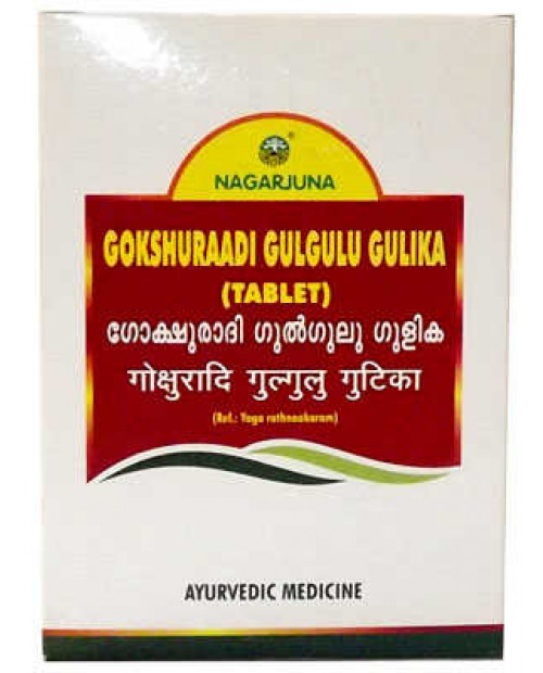 Nagarjuna Gokshuraadi Gulgulu Gulika 100Tabs