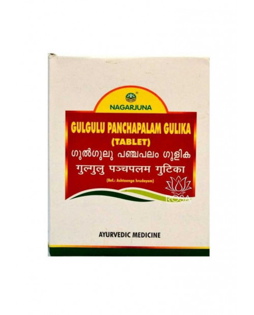 Nagarjuna Gulgulu Panchapalam Gulika 100Tabs