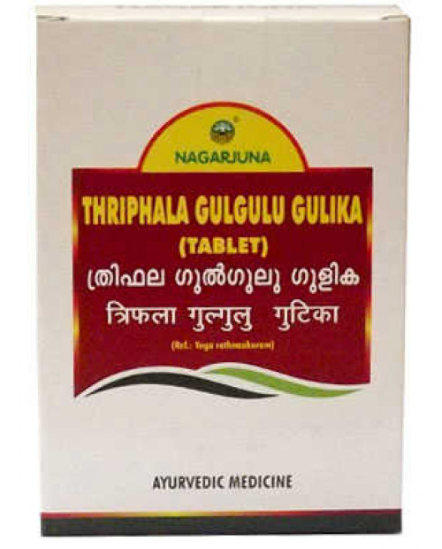 Nagarjuna Triphala Gulgulu Gulika 100Tabs