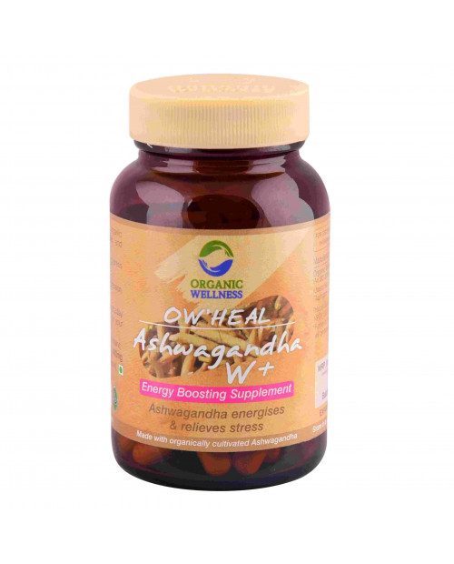 Organic Wellness Heal Ashwagandha W+