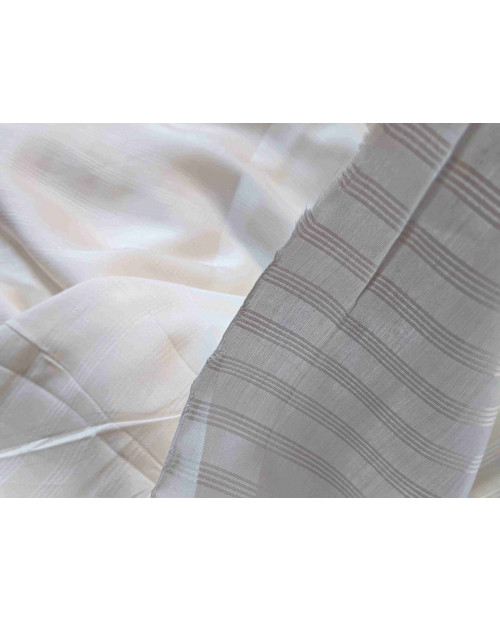 Orange Fiber Fabrics Stain Strip Design Minimum Order 5mtr