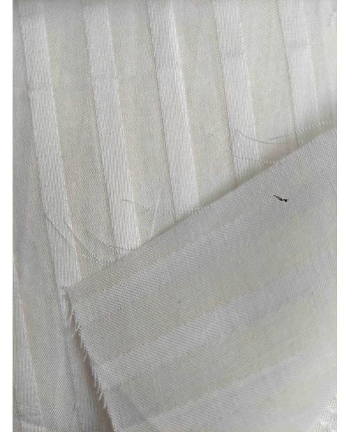Orange Fiber Fabrics Satin stripe Design Minimum Order  5mtr
