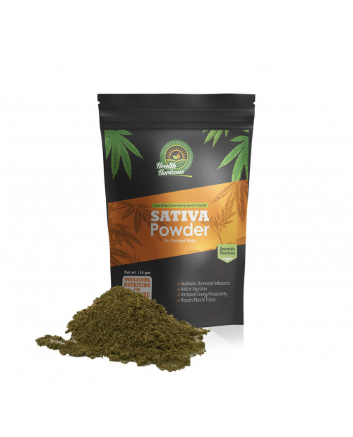 Health Horizons Ayurvedic Sativa Hemp Powder 150gm