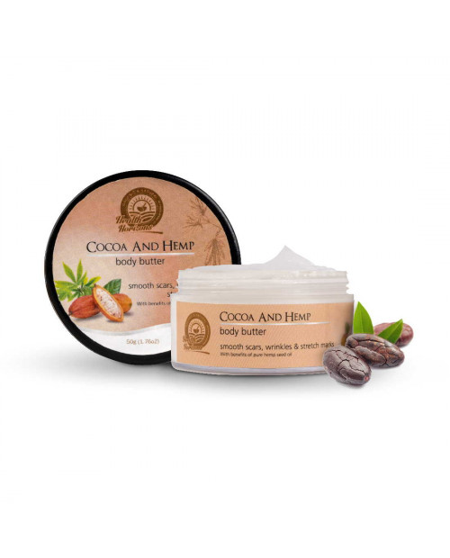 Health Horizons Cocoa and Hemp Body Butter Cream 50gm