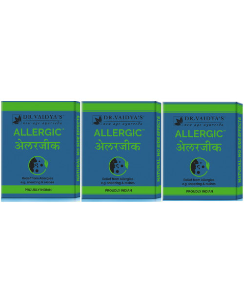 Dr. Vaidyas Allergic Pills Pack of 3