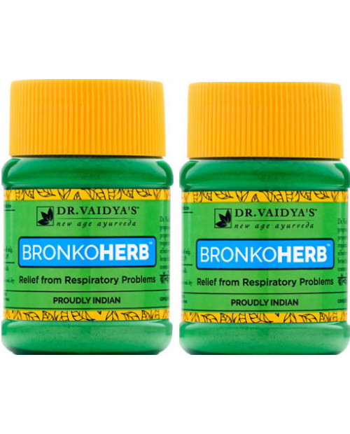 Dr. Vaidyas Bronkoherb Powder Pack of 2