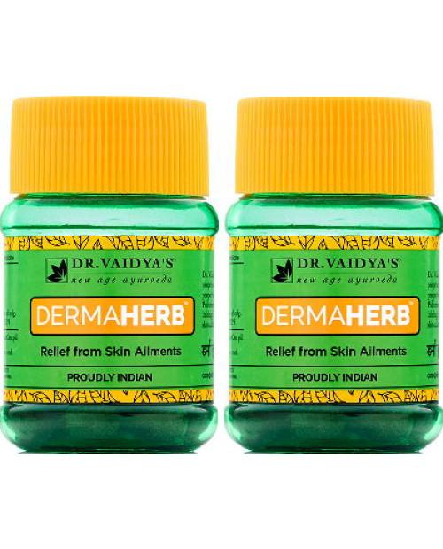 Dr. Vaidyas Dermaherb Pills Pack of 2