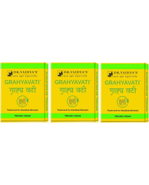 Dr. Vaidyas Grahyavati Pills Pack of 3