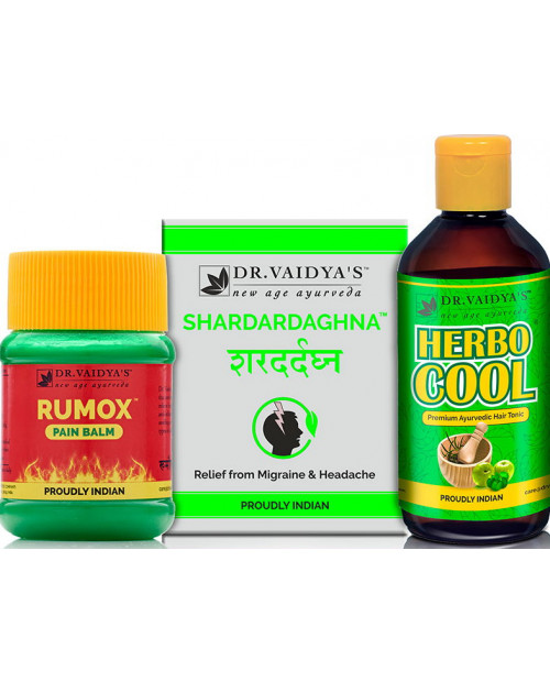 Dr. Vaidyas  Headache Pack