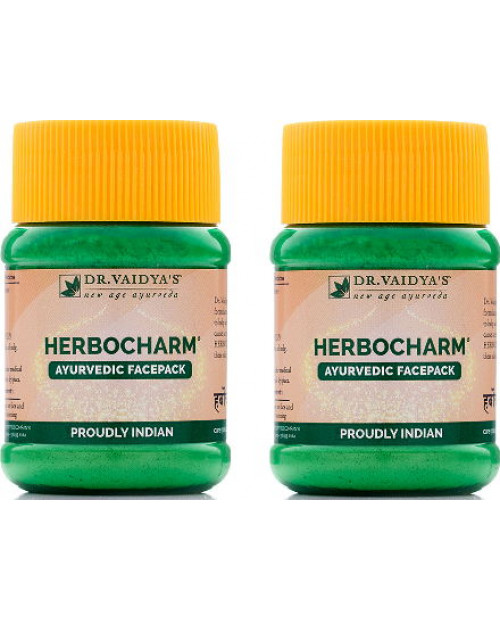 Dr. Vaidyas Herbocharm Powder Pack of 2