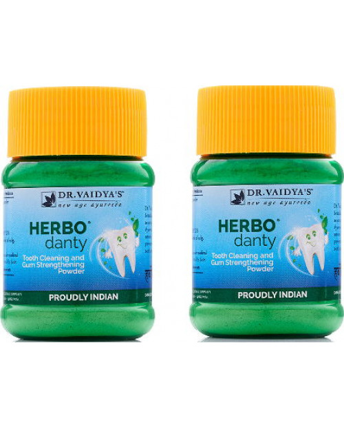 Dr. Vaidyas Herbodanty Powder Pack of 2