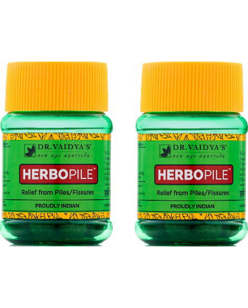 Dr. Vaidyas Herbopile Pills Pack of 2