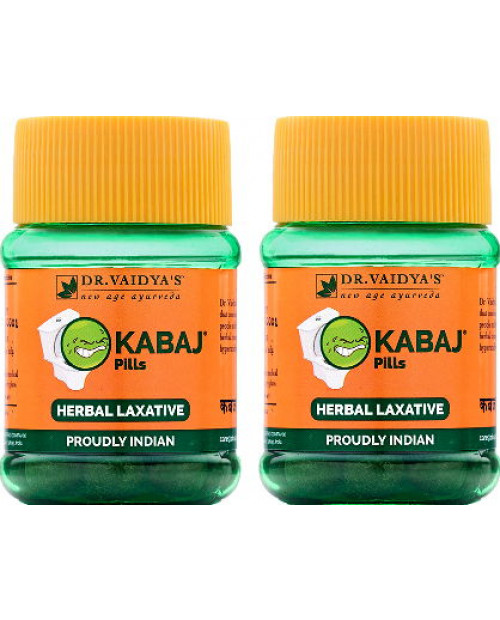 Dr. Vaidyas Kabaj Pills Pack of 2