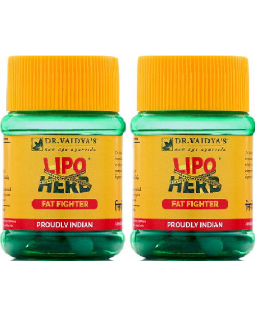 Dr. Vaidyas Lipoherb Capsules Pack of 2