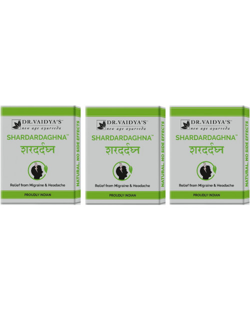 Dr. Vaidyas Shardardaghna Pills Pack of 3