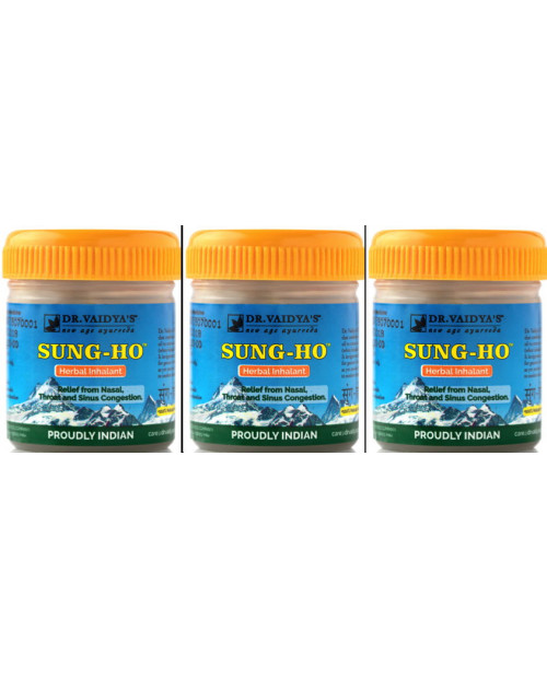 Dr. Vaidyas SungHo Pack of 3