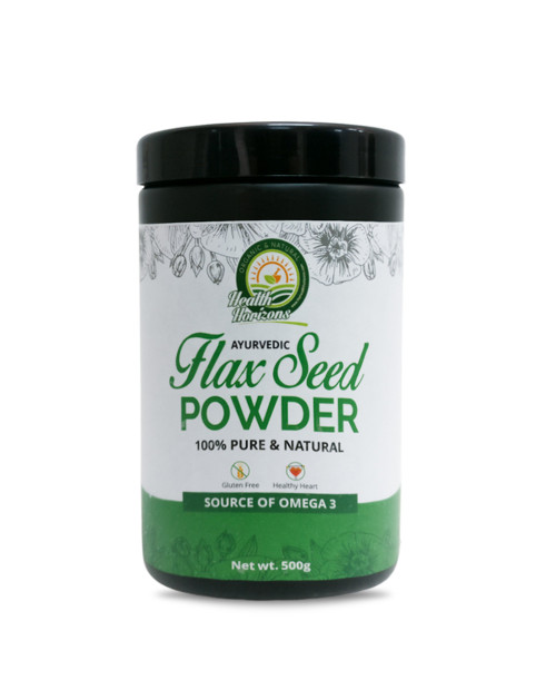 Health Horizons Ayurvedic Flax Seed Powder 500gm