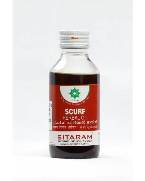 Scurf herbal oil