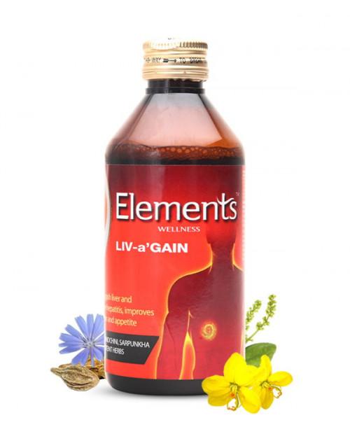 Elements Liv a Gain Liquid 200ML