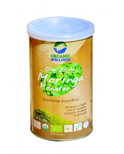Organic Wellness Zeal Moringa Powder