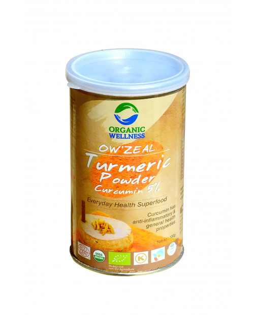 Organic Wellness Zeal Turmeric Powder