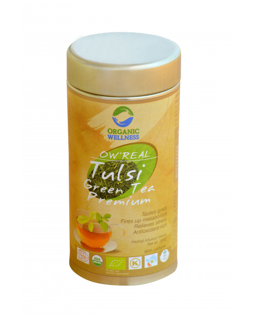 Organic Wellness Real Tulsi Green Tea Premium