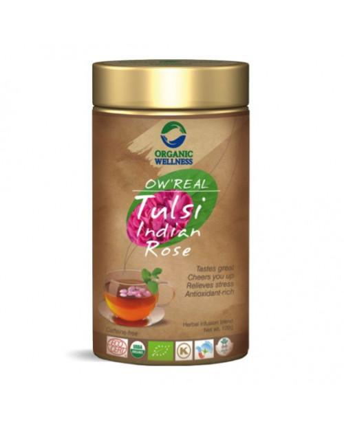 Organic Wellness Real Tulsi Indian Rose