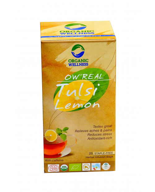Organic Wellness Real Tulsi Lemon