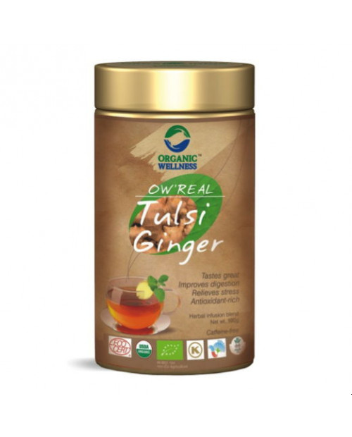 Organic Wellness  Real Tulsi Ginger