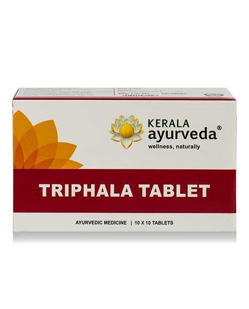 Kerala Ayurveda Triphala Tablet 100 Tab