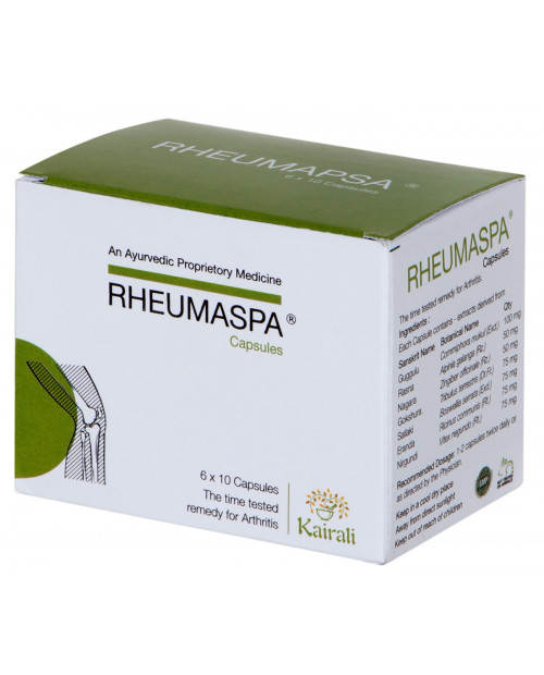 Kairali Rheuma Spa (60 capsules/ Box)