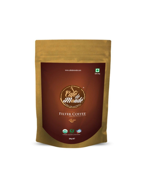 Organic Filter Coffee Powder 200gm
