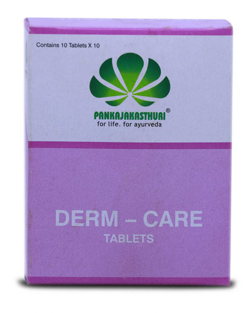 Pankajakasthuri Derm Care 100 Tablets