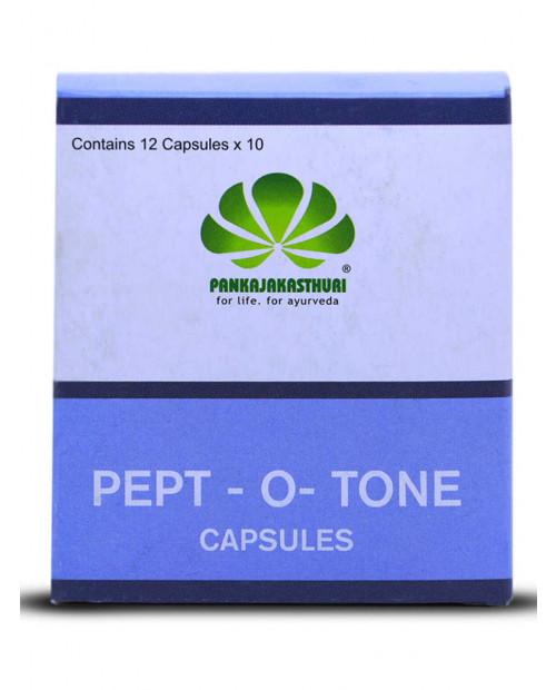 Pankajakasthuri Pept-O-Tone 120 Capsules