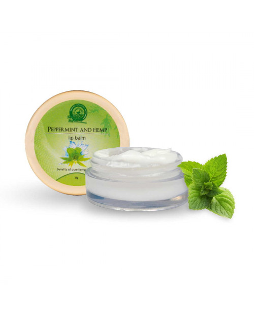 Health Horizons Peppermint and hemp Lip Balm White 8gm