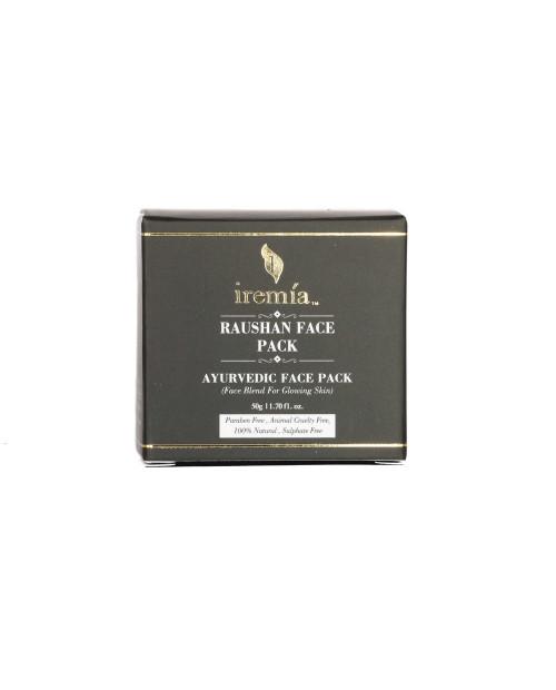 Iremia Raushan Face Mask   Ayurvedic Face Pack 50gm