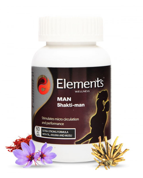 Elements Man Shakti Man 60 Capsules
