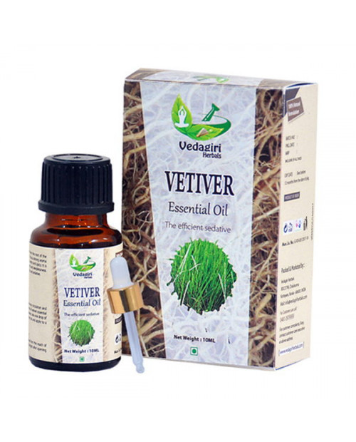 Vedagiri Vettiver Essential Oil 10ml