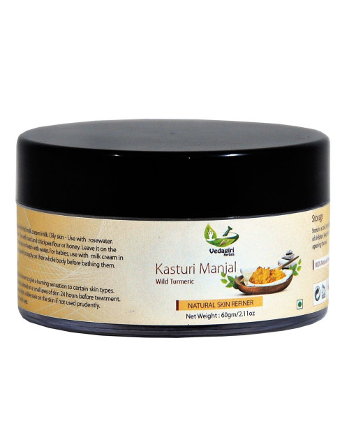 Vedagiri Kasturi Manjal - Yellow 60gm