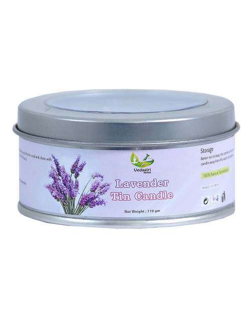 Vedagiri Lavander Tin Candle  110gm