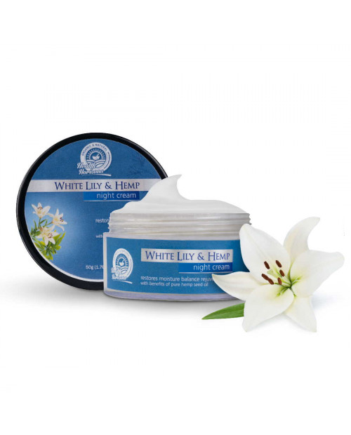 Health Horizons White Lily and Hemp Face Cream 50 gm