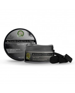 Health Horizons Activated Charcoal and Hemp Face Mask Cream 50 gm