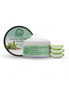 Health Horizons Aloe vera and Hemp Body Butter Cream 50 gm