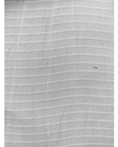 Orange Fiber Fabrics Strip Design Minimum Order 5mtr