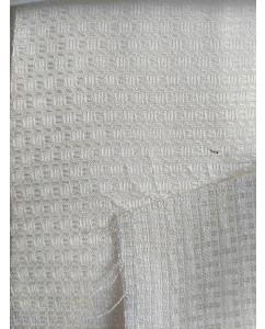 Orange Fiber Fabrics Waffle Design Minimum Order  5mtr