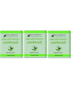 Dr. Vaidyas Amlapittavati Pills Pack of 3