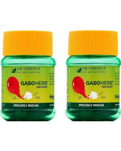 Dr. Vaidyas Gasoherb Pills Pack of 2