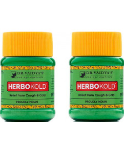 Dr. Vaidyas Herbokold Powder Pack of 2