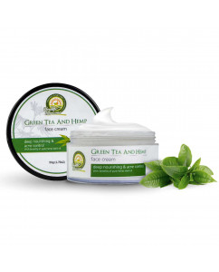 Health Horizons Green Tea and Hemp Face Cream 50 gm