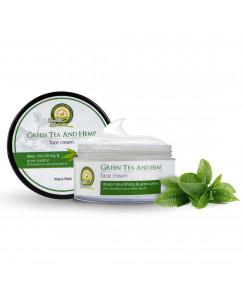 Health Horizons Green Tea and Hemp Face Cream 50 gm